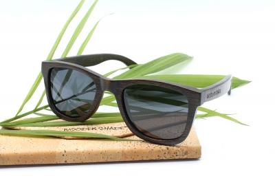 "LIKO ""Black"" (#Arnie #Terminator Edition) - Bamboo Sunglasses"