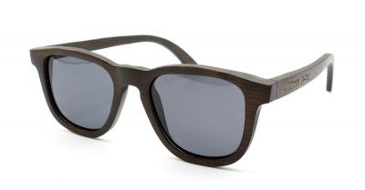 "AMITA Bamboo Sunglasses ""Black"