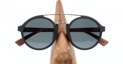 "JARA (Ebenholz) Sonnenbrille ""Schwarz"""