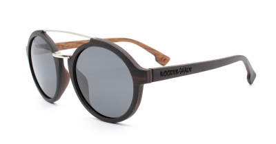 "JARA (Ebonywood) Sunglasses ""Black"""