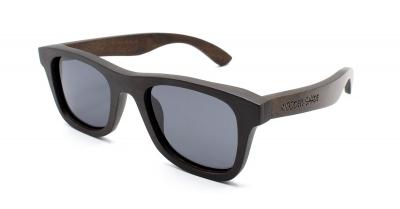 """KALEA SLIM """"Black"""" Ebony Wood Sunglasses"""