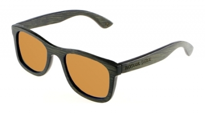 "KALEA (BLACK EDITION) ""Brown"" - Bamboo Sunglasses"