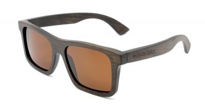 "LONO ""Brown"" - Bambus Sonnenbrille"