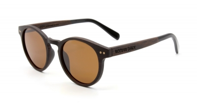 "MAYA Ebony Wood Sunglasses ""Brown"""