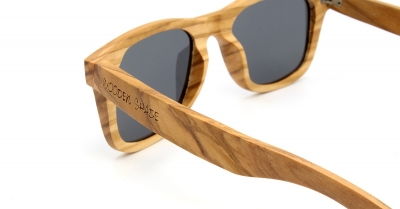 "LIKO Olive Wood Sunglasses ""Brown"""