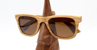 "LIKO Olivenholz Sonnenbrille ""Brown"""