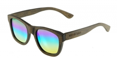 "ANELA Bambus Sonnenbrille ""Rainbow"""