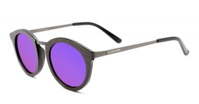 """MANOA Bamboo Sunglasses """"Purple"""""""