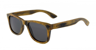 """LIKO Vintage """"Black"""" - Bambus Sonnenbrille"""
