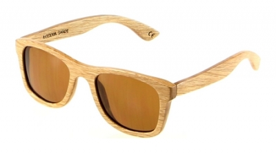 "KALEA (Kalama Edition) ""Brown"" - Zebra Wood Sunglasses"