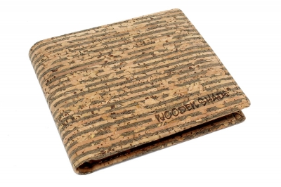 "Cork wallet ""Mixed style"""