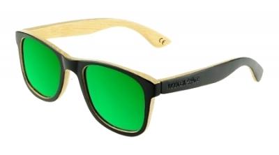 "LIKO Keanu Edition ""Green"" - Bamboo Sunglasses"