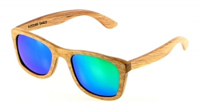 "KALEA (Kalama Edition) ""Green"" - Zebra Wood Sunglasses"