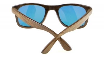 """LIKO """"Blue"""" - Bamboo Sunglasses"""