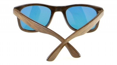 "LIKO ""Orange"" - Bamboo Sunglasses"