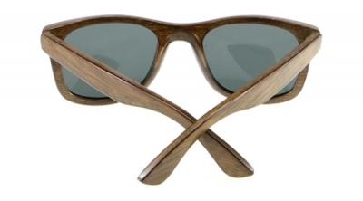"KALEA ""Silver"" - Bambus Sonnenbrille"
