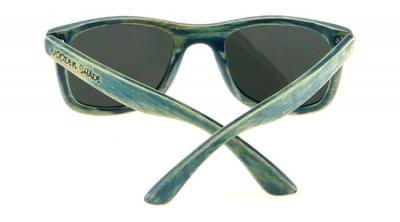 """KALEA (SAMOA Edition) """"Silver"""" - Bamboo Sunglasses"""