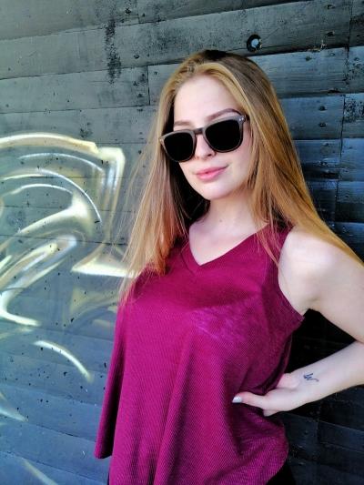 "AMITA V2 ""Black"" Skateboard Holz Sonnenbrille"