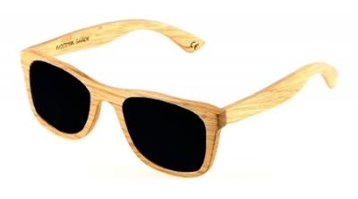 "KALEA (Kalama Edition) ""Black"" - Zebra Wood Sunglasses"