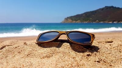 "KALEA (Vintage Edition) ""Silver"" - Bamboo Sunglasses"