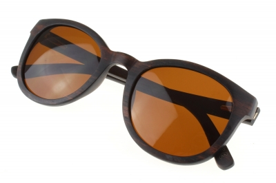 "KEOLA (Ebony wood) Sunglasses ""Brown"""