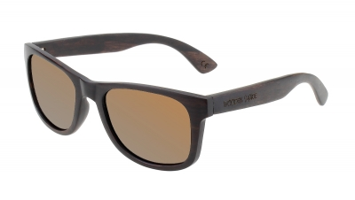 "LIKO Ebony Wood Sunglasses ""Brown"""
