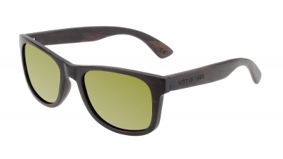 "LIKO Ebony Wood Sunglasses ""Gold"""