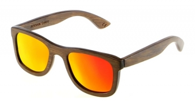 "KALEA ""Red"" - Bamboo Sunglasses"