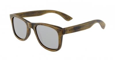 "LIKO Vintage ""Silver"" - Bamboo Sunglasses"