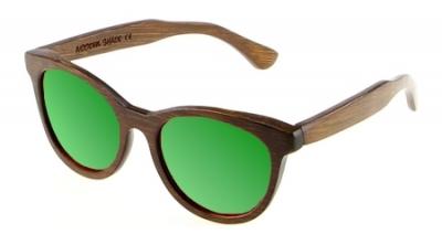 "SIVA Bambus Sonnenbrille ""Green"""