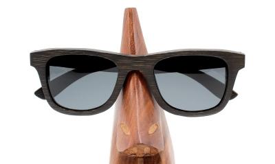 "KEIKI Bambus Sonnenbrille ""Black"""