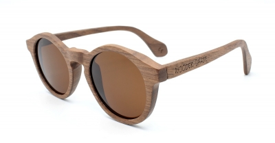 "CARIBA (Walnut wood) Sunglasses ""Brown"""