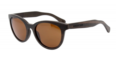 "SIVA Ebony Wood Sunglasses ""Brown"""