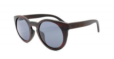 "DARK LANEA (Ebony wood) Sunglasses ""Black"""
