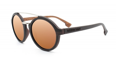 "JARA (Ebonywood) Sunglasses ""Brown"""