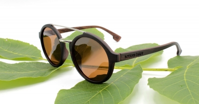 "JARA (Ebonywood) Sunglasses ""Brown"""