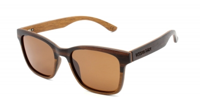"KOA ""Brown"" Wood Sunglasses"