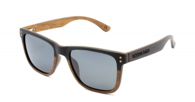 "KOA Slim V2 ""Black"" Wood Sunglasses"