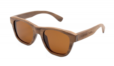 "ANELA (Walnut Wood) Sunglasses ""Brown"""
