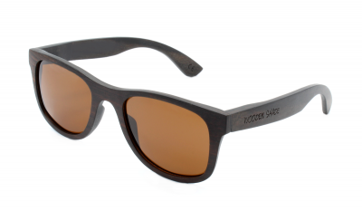 "KALEA Ebony Wood Sunglasses ""Brown"""