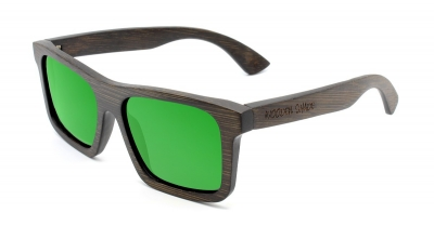 "LONO ""Green"" - Bamboo Sunglasses"