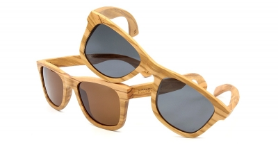 "LIKO Olive Wood Sunglasses ""Black"""