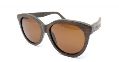 "PALIA (Dark Pyrus betulifolia wood) Sunglasses ""Brown"""