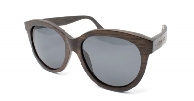 "PALIA (Dark Pyrus betulifolia wood) Sunglasses ""Black"""