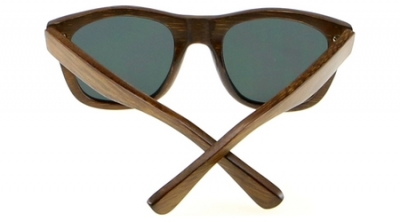"ANELA Bamboo Sunglasses ""Blue"""