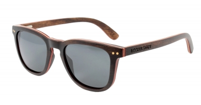 "AMITA V2 ""Black"" Skateboard Wood Sunglasses"