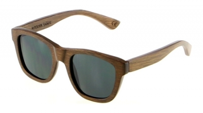 "ANELA Bamboo Sunglasses ""Black"""