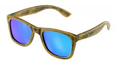 "LIKO Vintage ""Blue"" - Bamboo Sunglasses"