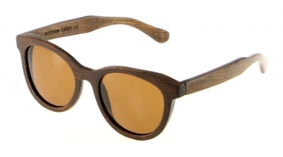 "SIVA Bamboo Sunglasses ""Brown"""