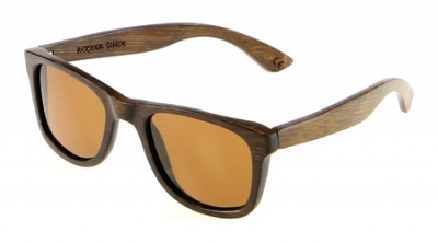 "LIKO ""Brown"" - Bamboo Sunglasses"